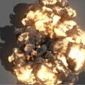 Maya FumeFx Explosion