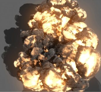 Maya Effects and Explosions Assets