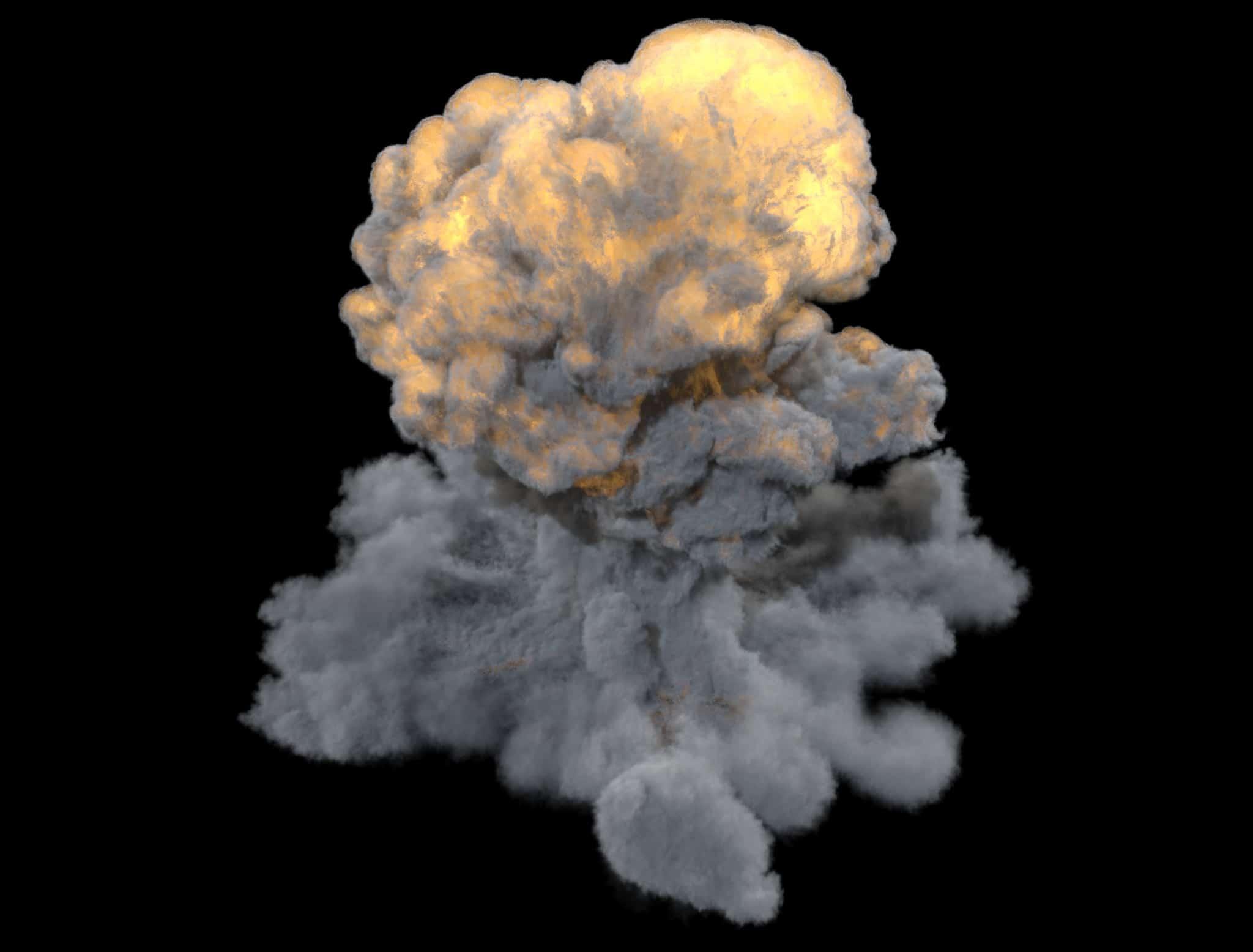 FumeFx Effectors Explosion