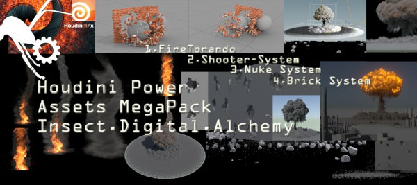 Houdini Power Assets Package