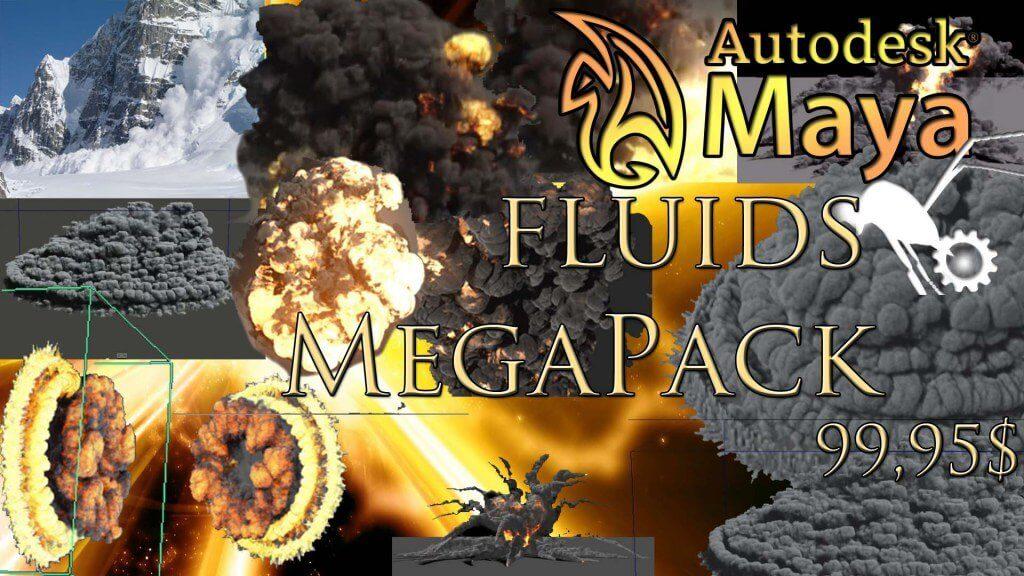 Maya Fluids Effects Package
