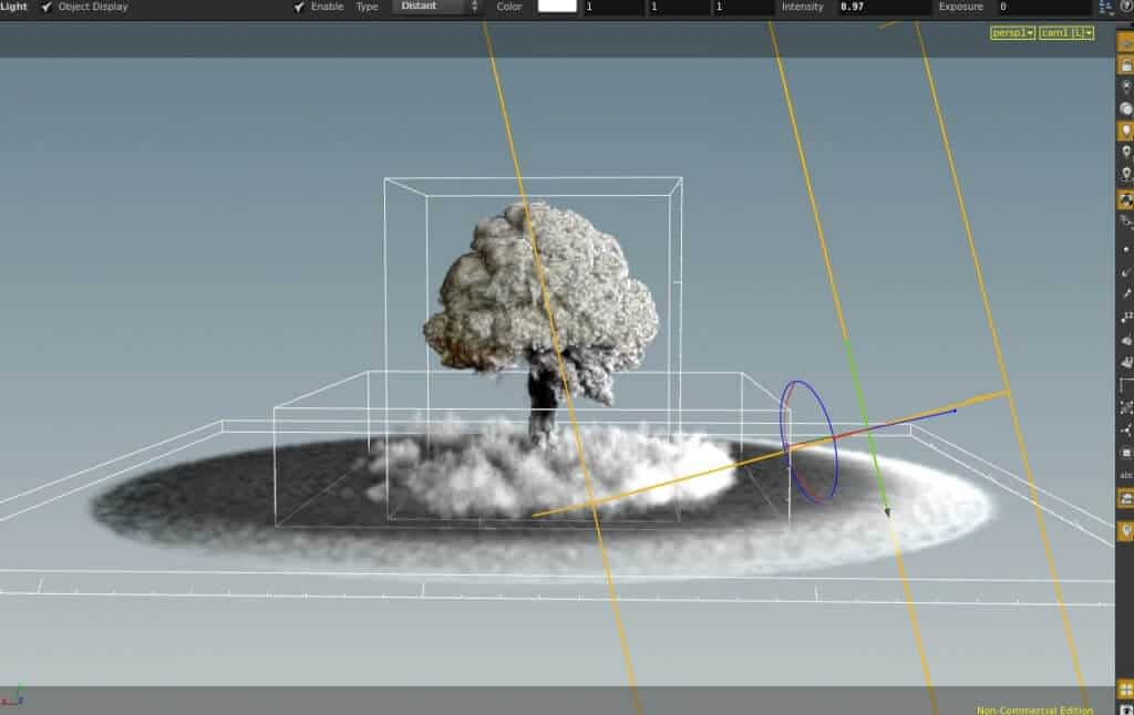 Houdini FX Power Asset - Nuclear Explosions toolkit 18.5