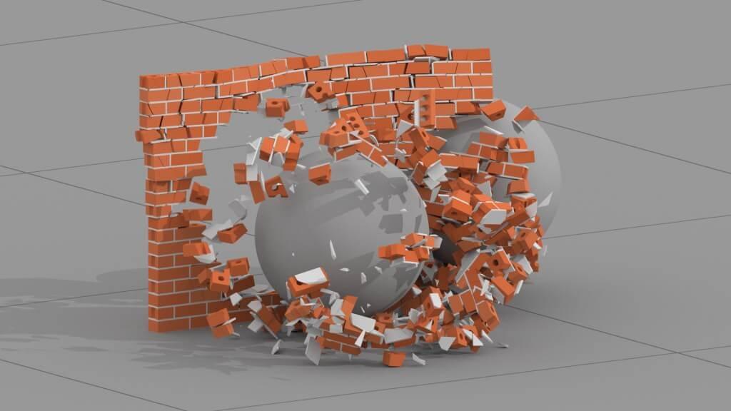 Houdini FX - Brick Smasher