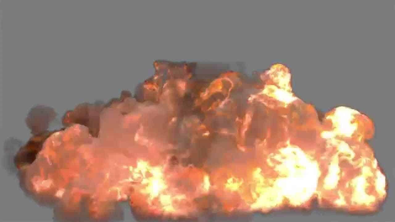 FumeFx Heavy Explosion Blast