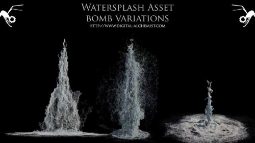 Houdini Water assets