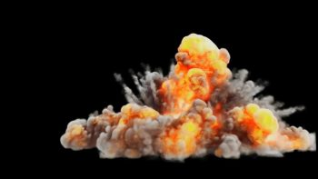 3d studio Max & FumeFx explosion assets