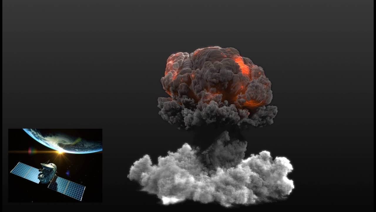 3ds Max FumeFx Megapack - Explosion Assets Pack
