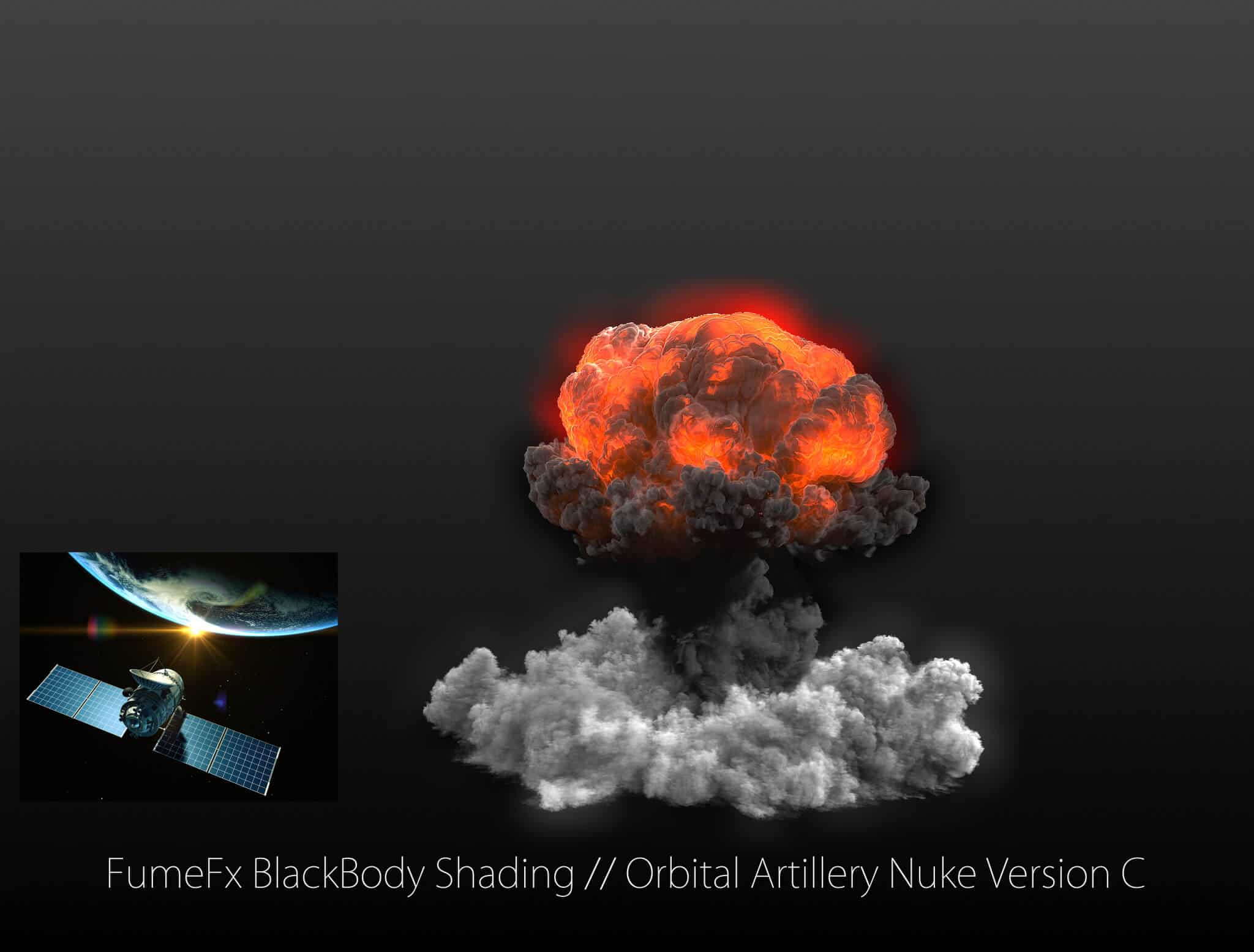 ELECTROMAGNETIC RADIATION FROM A NUCLEAR EXPLOSION IN SPACE