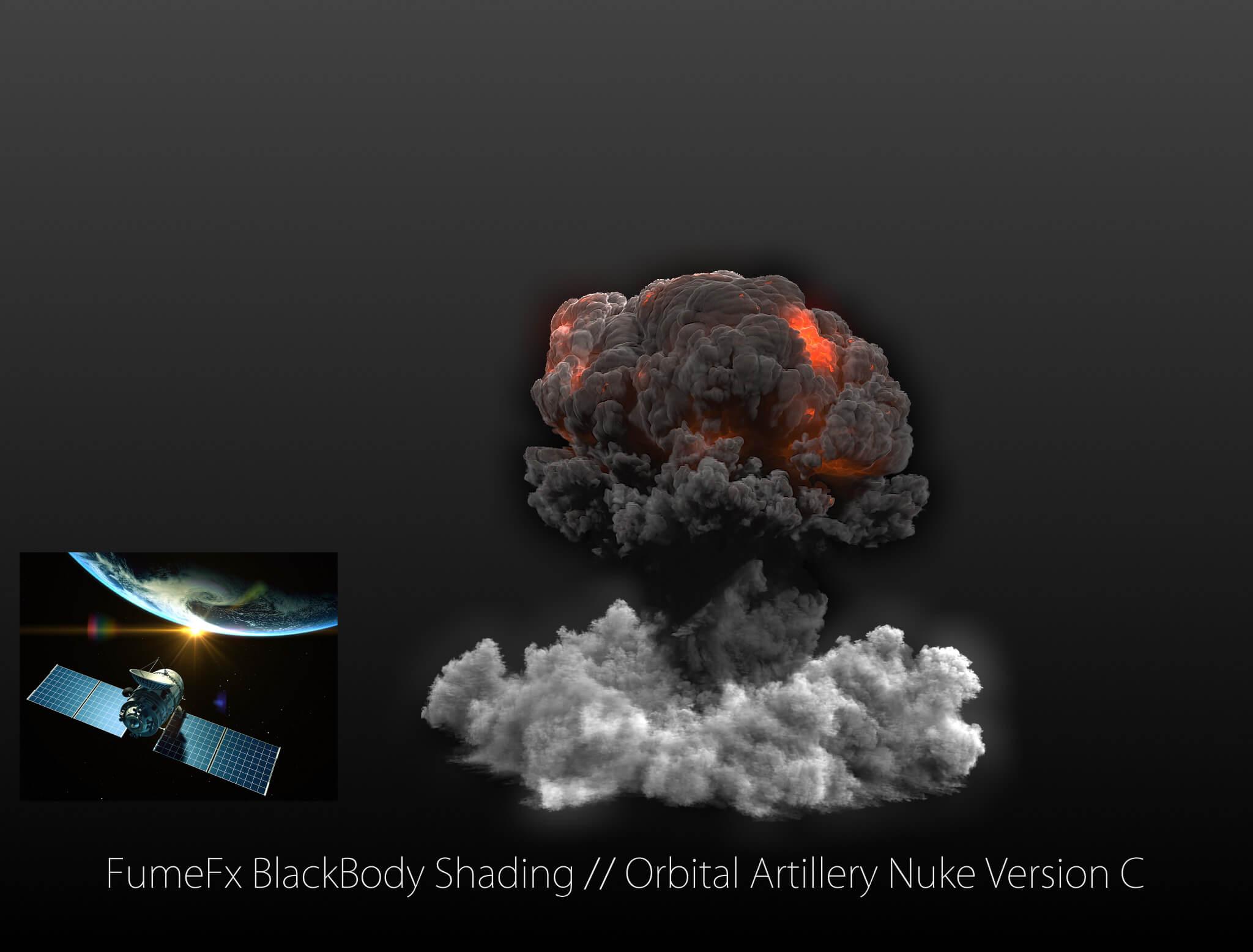 3ds Max FumeFx - Nuke Explosion