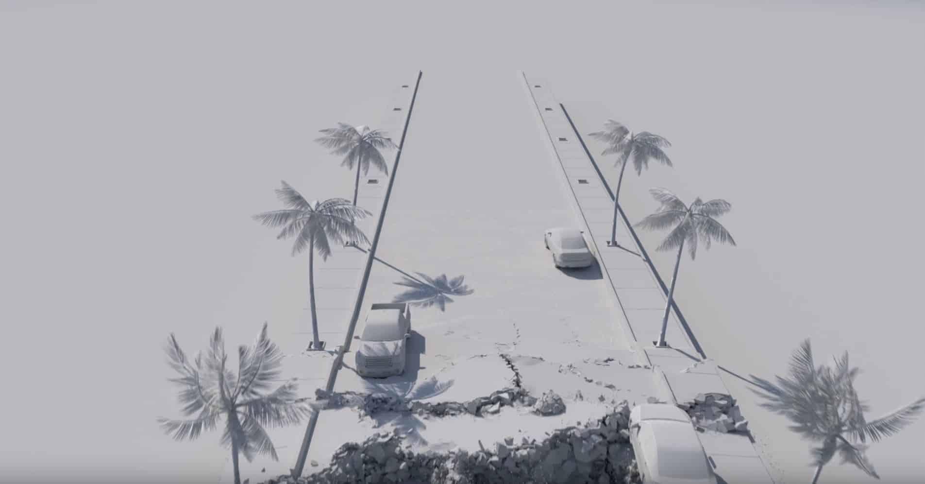 """2012"" Quake FX - 3ds Max Thinking Particles Destruction Scene File"
