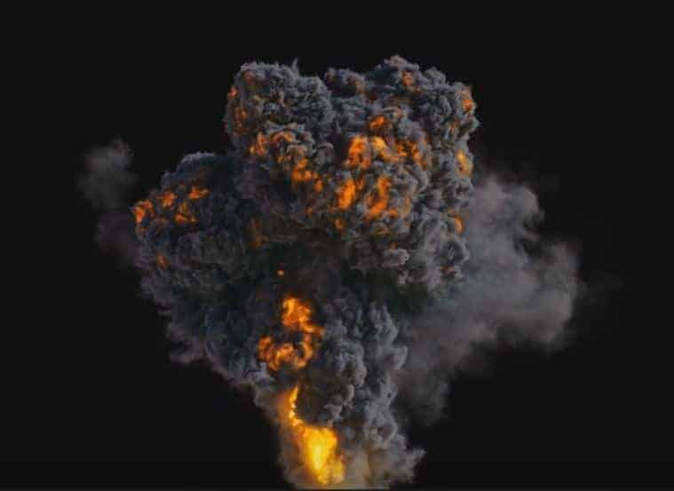 Houdini explosion megapack - four explosions