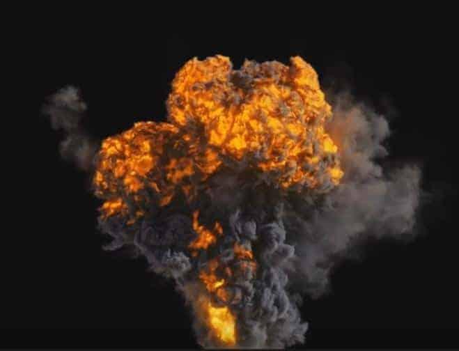 Houdini Pyrofx - Explosion