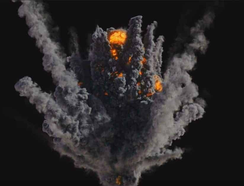 Houdini Explosion Package - 5x PyroFX Explosions