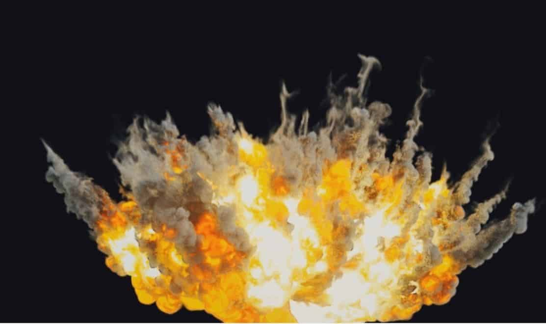 Houdini explosion megapack - four explosions