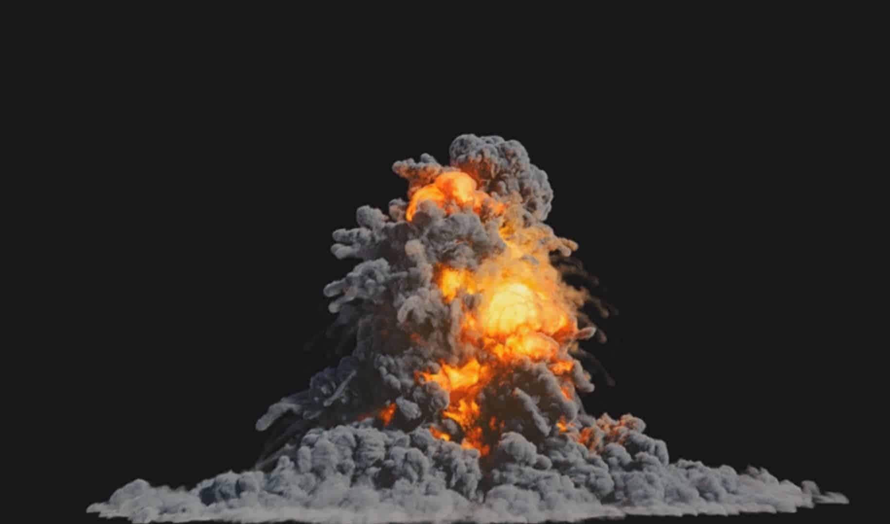 Houdini explosion megapack - 4 Explosions