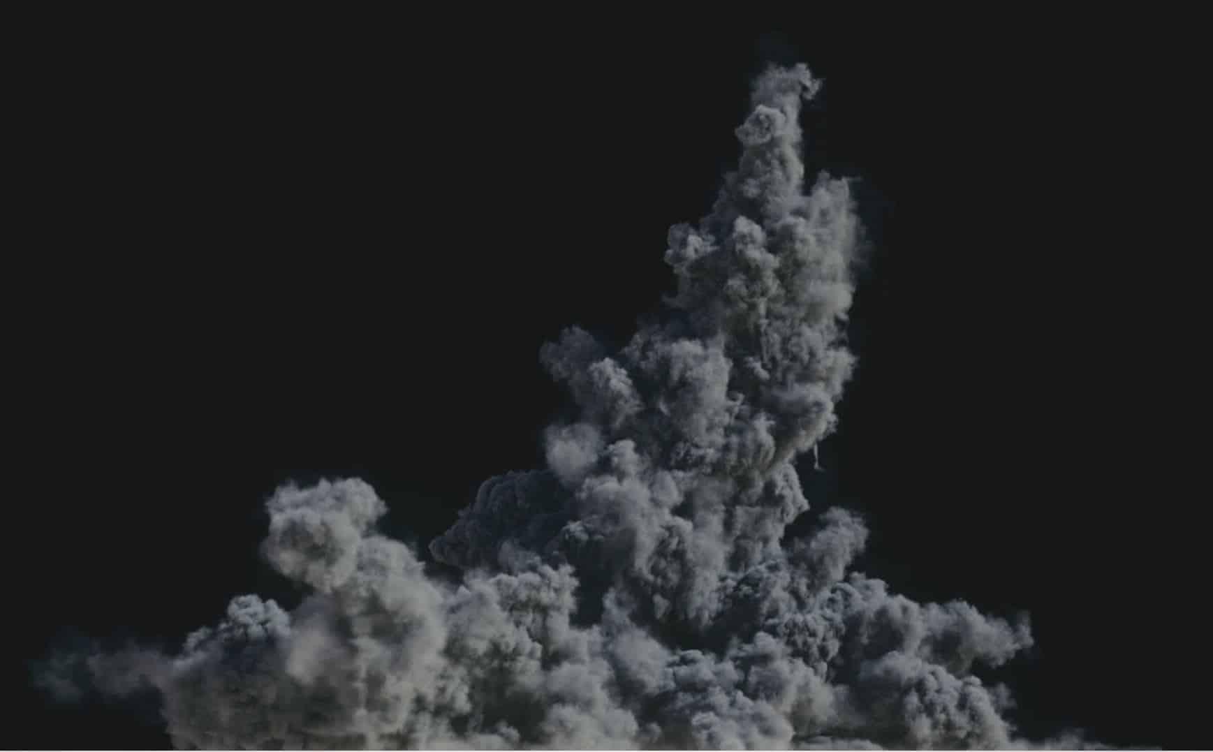 Houdini Grain Advection explosion