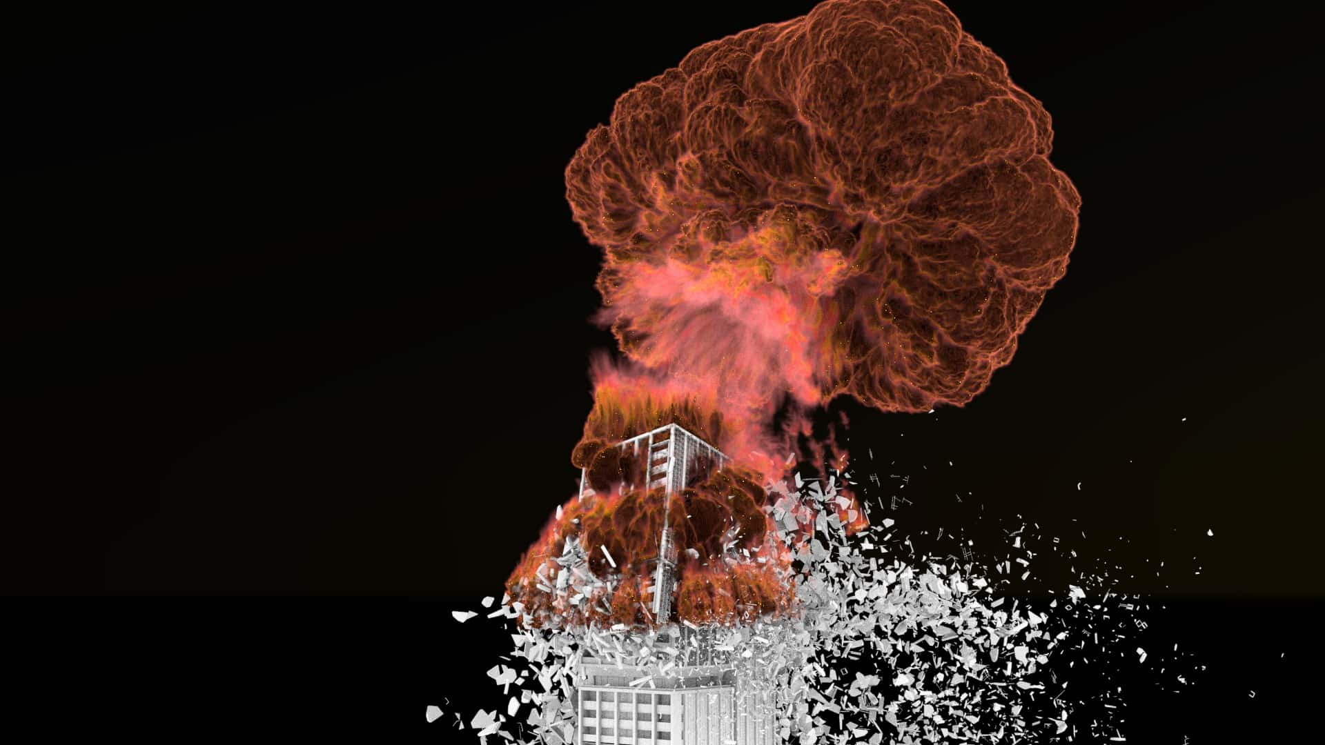 Houdini building destruction made easy - toolkit