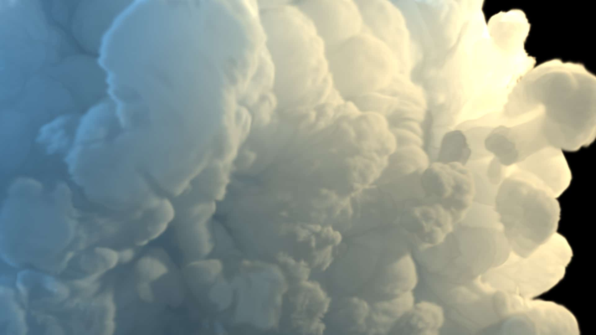 3D FumeFx Cloud Design Asset