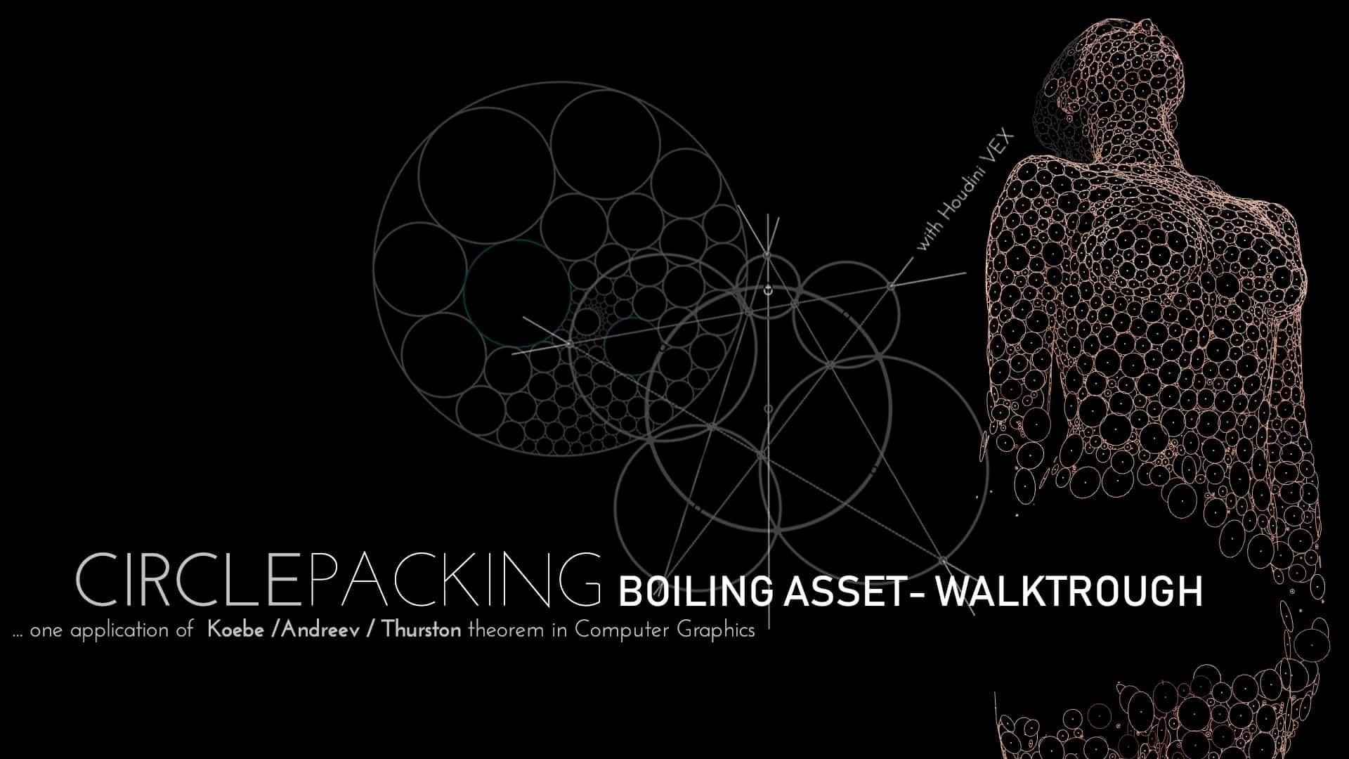 Boiling Tool - Houdini Asset (Circle Packing Algorithm)