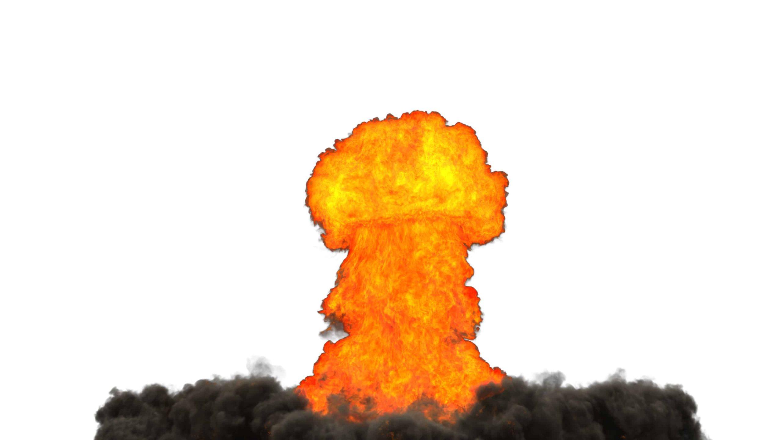 3dsMax & FumeFx nuclear explosion