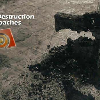 Houdini destruction and demolition assets