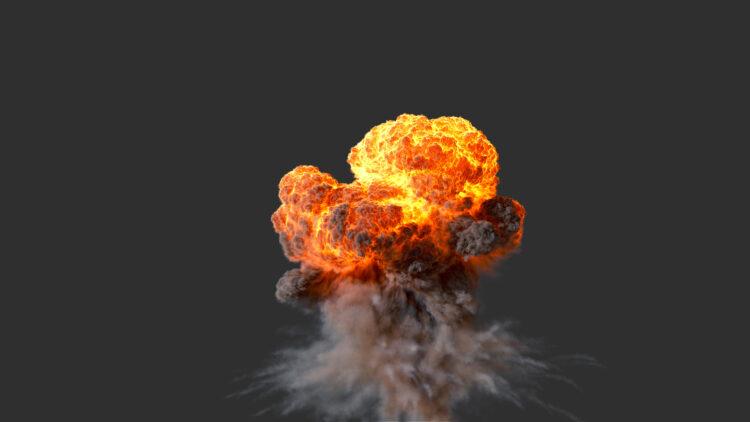 Houdini 18.5 - Massive Explosion