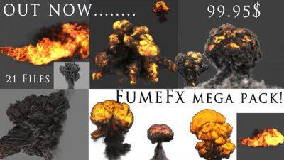 FumeFx Mega Pack - VFX Online Store - 3D fx preset creator | Digital Alchemist