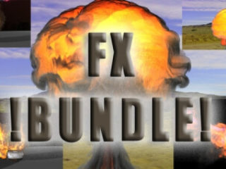 FumeFx Basic Pack - 3D fx preset creater and royalty free stock footage | 3D animation and VFX service freelance