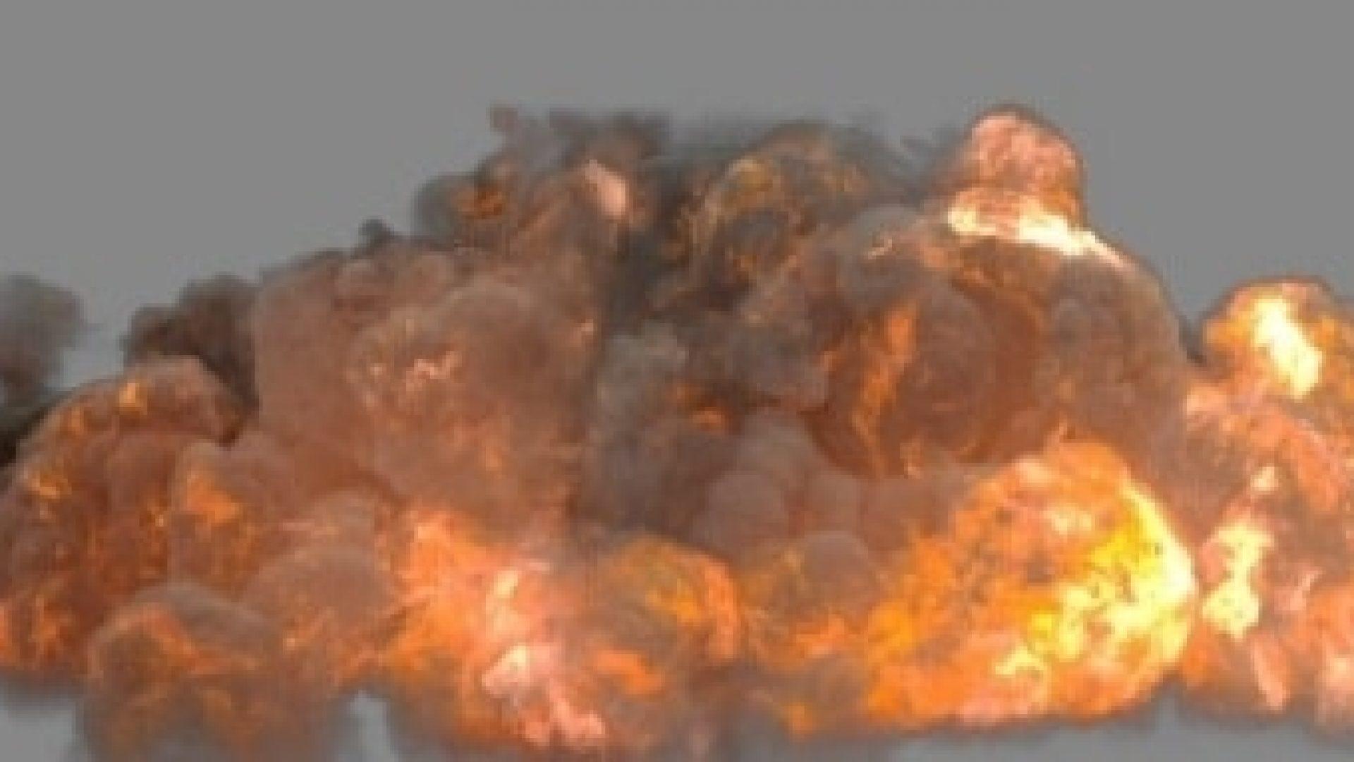 FumeFx Heavy Detonation - 3D fx preset creator, VFX Online Store, 3D Animation and VFX service, Digital Alchemy