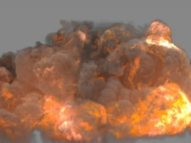 FumeFx Heavy Detonation - 3D fx preset creator, VFX Online Store, 3D Animation and VFX service, Digital Alchemy